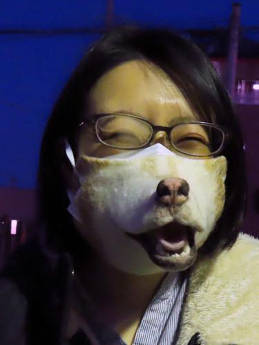 ハスキーマスクのりり子さん