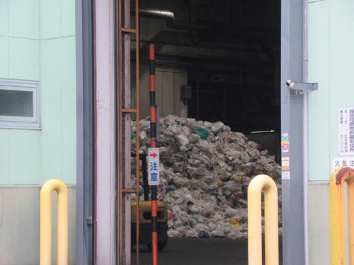 ゴミの観察
