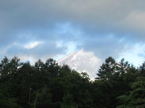 お誕生日の富士山