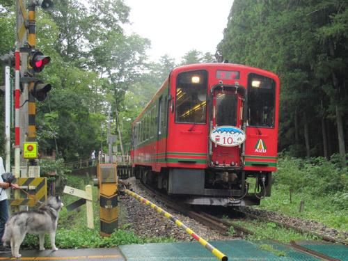 会津鉄道とスフレ