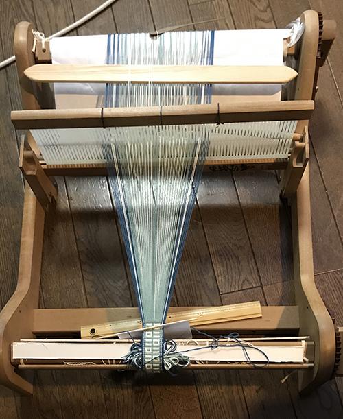 バンド織り4織