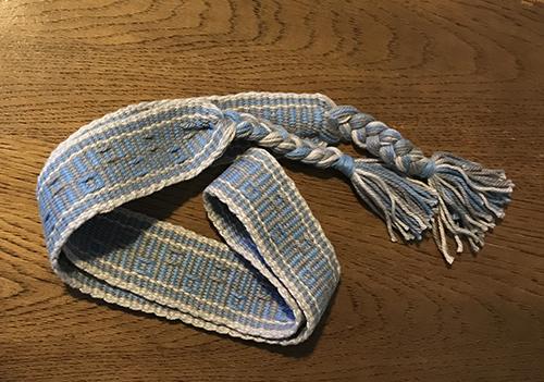 バンド織り1