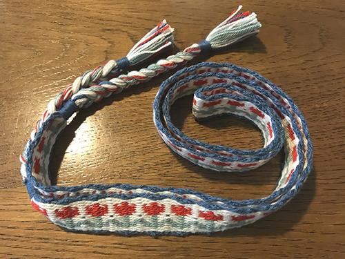 カード織りチューリップ