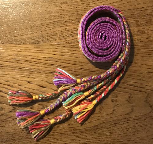 バンド織り3