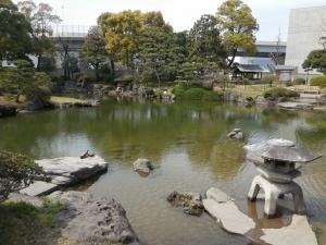 両国界隈の史跡 旧安田庭園