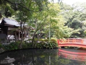 野川 貫井神社