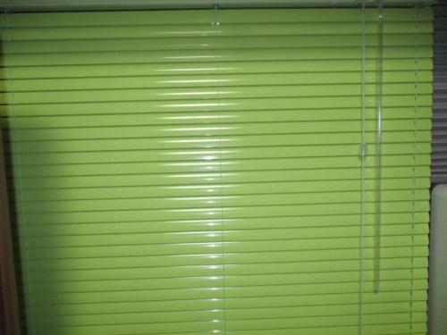 タチカワブラインド シルキーシェイディRDS T-2547シトラスグリーン色