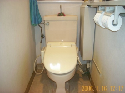 2006年のトイレ