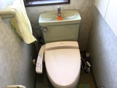 TOTOの既存のトイレ