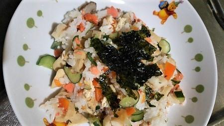 ちいこうバラ寿司 (2)