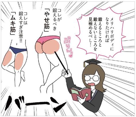 はじめてのやせ筋トレ1