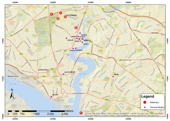 英国サウザンプトン: スマートシティIoT展開のためのLoRaWAN活用、長期評価レポート