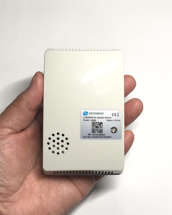 LoRaWAN CO2エアークオリティセンサLAQ4の初回出荷とThe Things Stack V3の概要