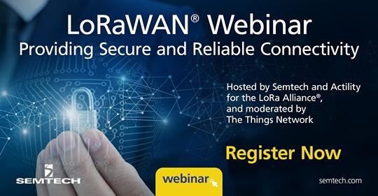 【3/25】LoRaWAN Network Security Webinar開催とエンド・ツー・エンド セキュリティ