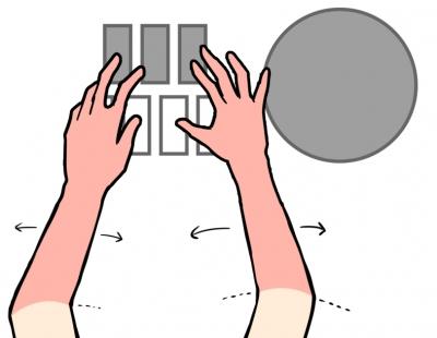腕押し(ガチ押し)