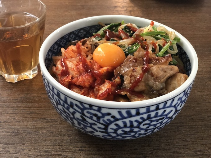 ビビンバ丼1