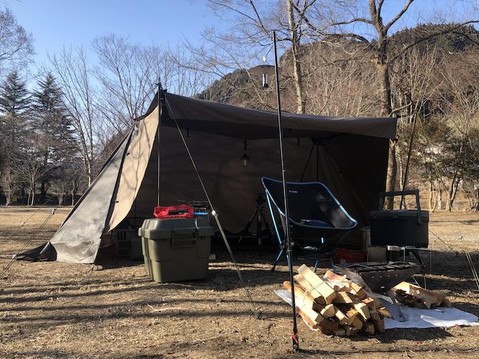 東古屋キャンプ場1