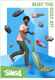 「The Sims4 Bust the Dust Kit」