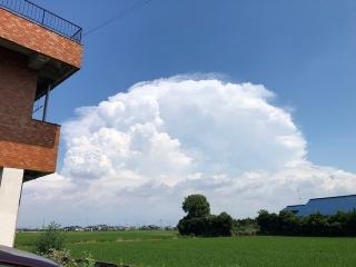 今日の雲2020年8月12日