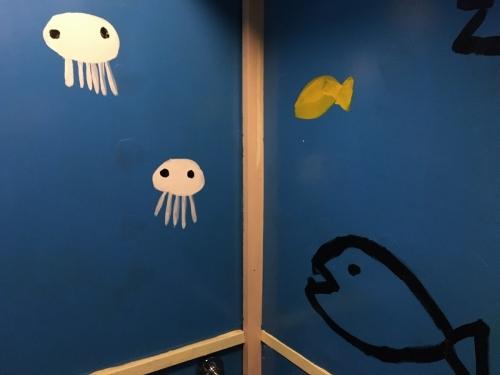 トイレに海月が水母が・・・!