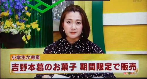 202003208奈良テレビ期間限定メニューいちごゼリー