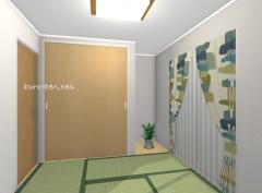シンプルな和室