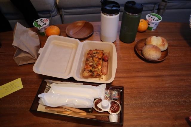 島根県浜田 温泉リゾート風の国の朝食&チェックアウト5