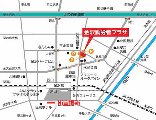 金ぷら地図ap