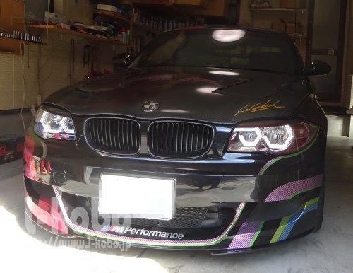 BMW E82 イカリング加工3