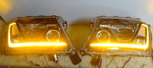 日野プロファイアのヘッドライト