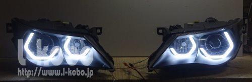 E63ヘッドライト加工