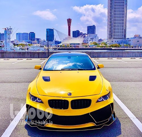 BMW E63 ヘッドライト加工 イカリング