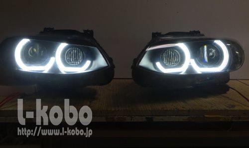 BMW M3 ヘッドライト2