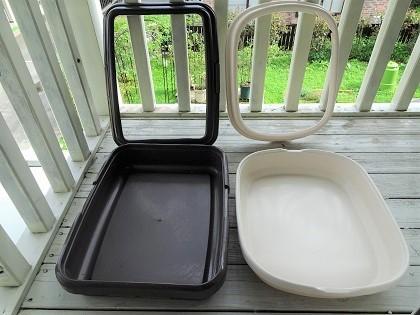 トイレを洗ったり