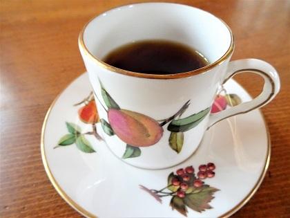 コーヒーの美味しい季節