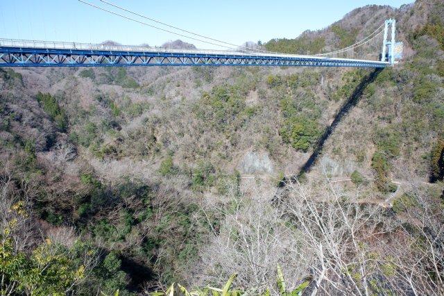 竜神大吊橋 竜神峡 亀ヶ淵 2020.3.15 010