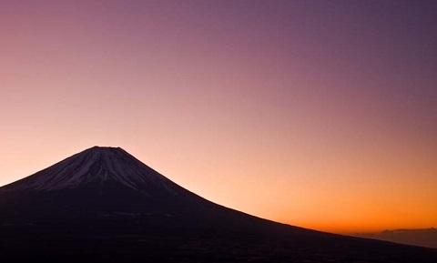 210122 富士山とご来光