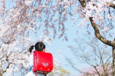210409 桜と子供1