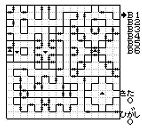 外伝3 南の洞窟地下1階