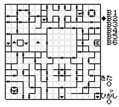 外伝3 南の洞窟地下2階