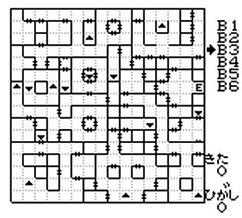 外伝3 南の洞窟地下3階