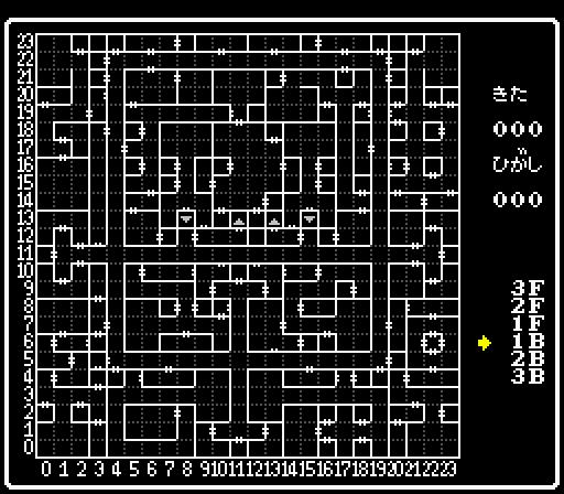 外伝4 幻術の塔地下1階