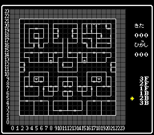 外伝4 幻術の塔地下2階