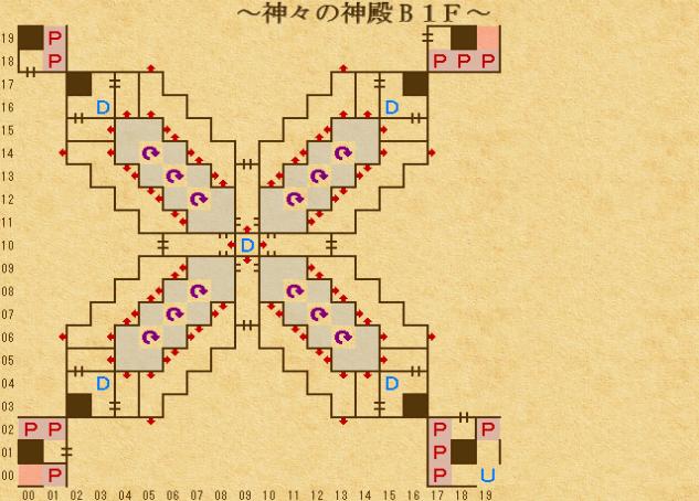 エンパイア2_ 神々の神殿地下1階