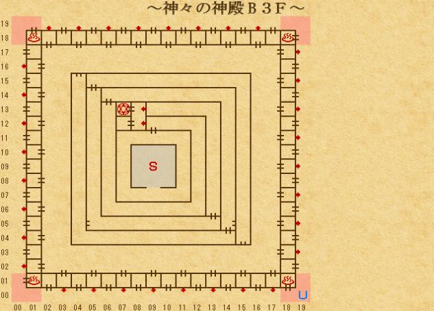 エンパイア2_ 神々の神殿地下3階