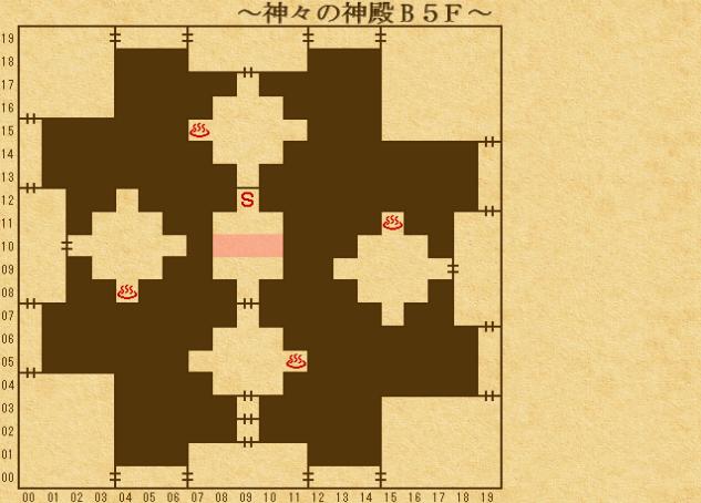 エンパイア2_ 神々の神殿地下5階