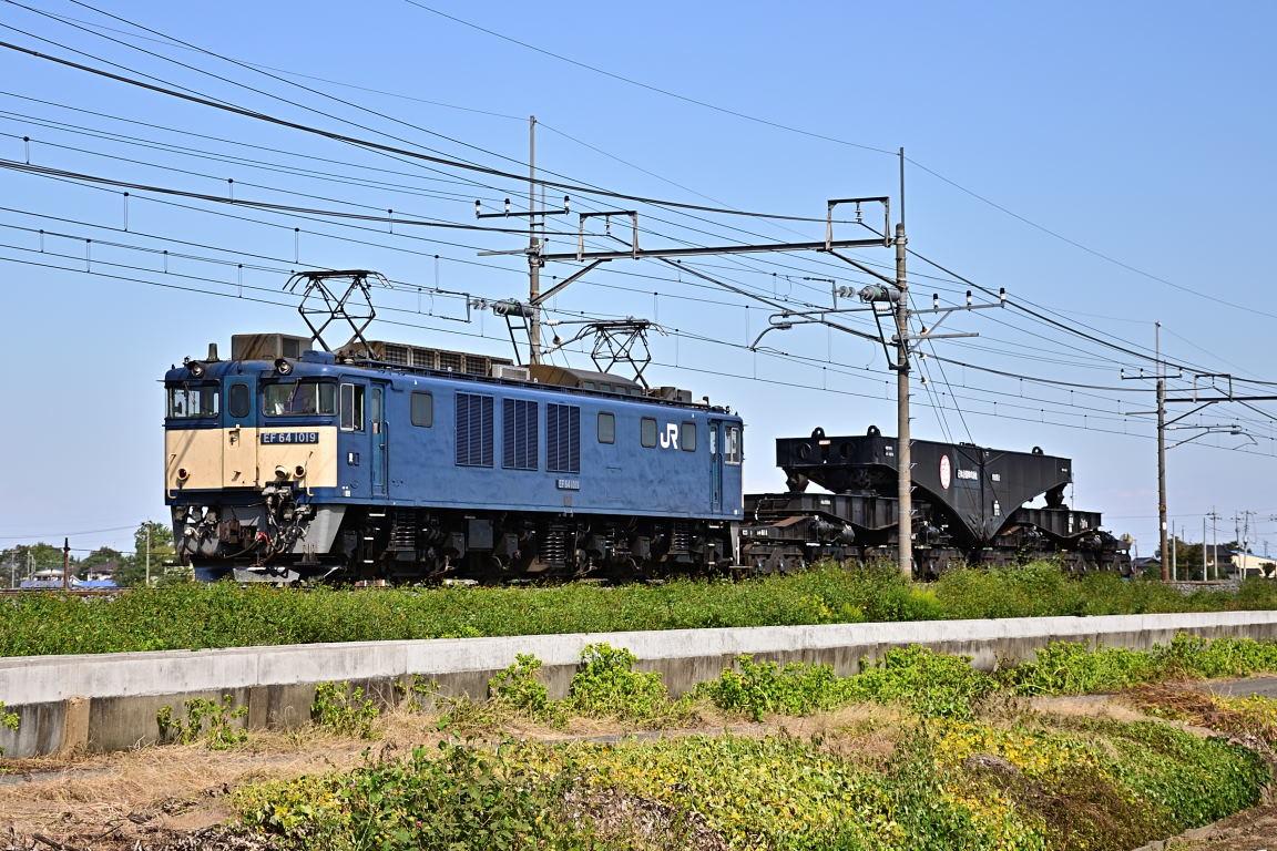 2012.10.13 1113_32(2) 栗橋~東鷲宮 EF64 1019+シキ611