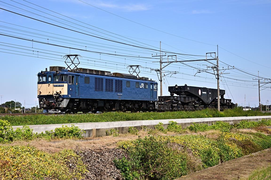 2012.10.13 1113_34(3) 栗橋~東鷲宮 EF64 1019+シキ611