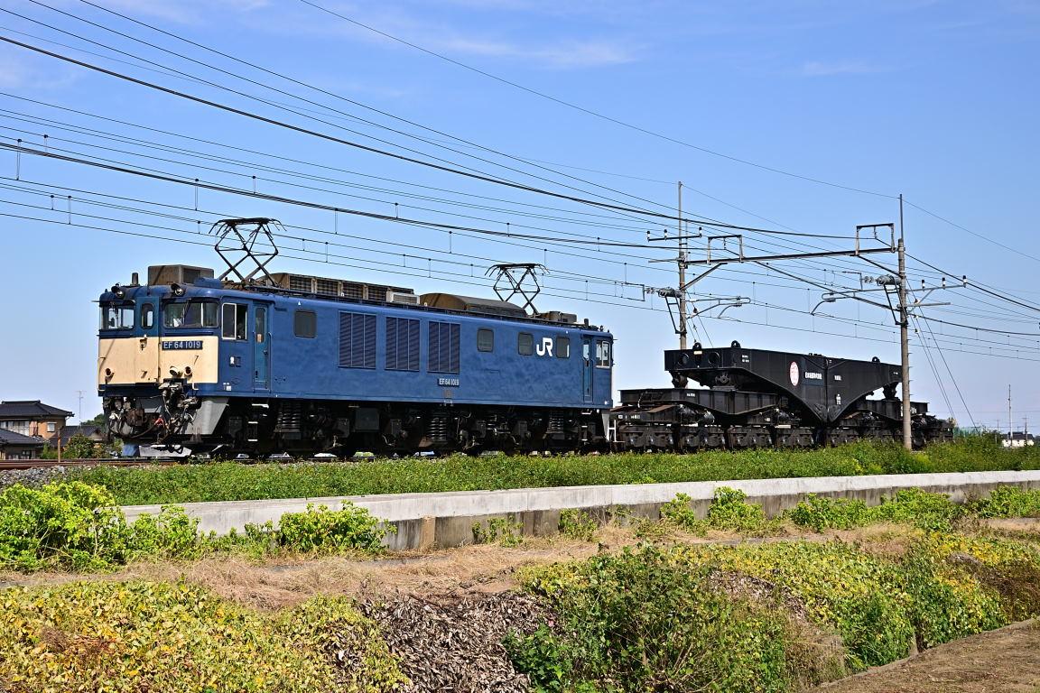 2012.10.13 1113_34(4) 栗橋~東鷲宮 EF64 1019+シキ611
