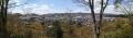 4 竜田公園からの王寺方面 パノラマ写真 大